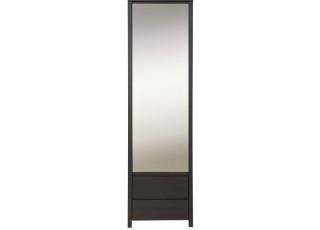 Шкаф с зеркалом SZF 1D/2SP KASPIAN BRW