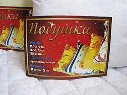 Подушка тик холофайбер 70*70 (2920) TM KRISPOL Україна, фото 2