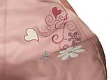 Пуф Крісло груша sportkreslo ведмедик Тедді Екокожа розмір L 95*115cm рожевий, фото 3
