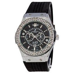 Hublot 882888 Classic Fusion Crystal Black-Silver-Black
