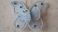 Бабочка декоративная размер 9*8 см