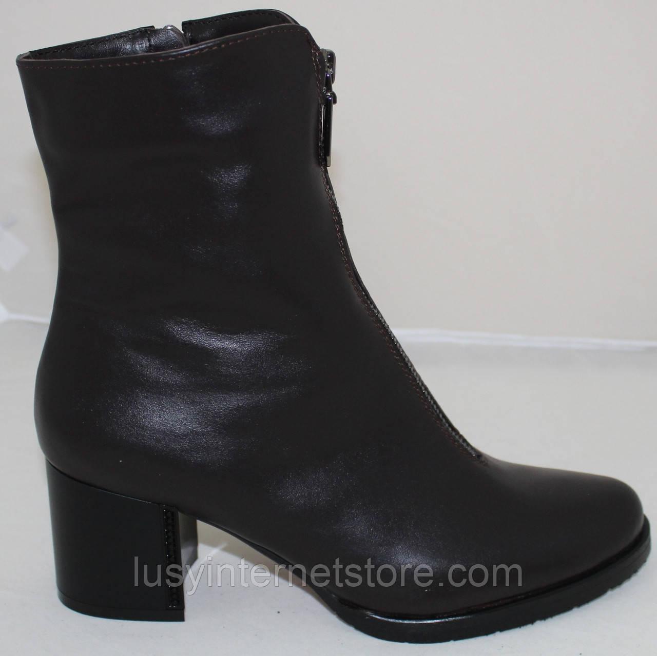 Ботинки кожаные женские демисезонные от производителя модель Ф1960