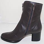 Ботинки кожаные женские демисезонные от производителя модель Ф1960, фото 3