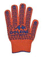 Перчатка з ПВХ рисунком Doloni 526