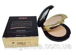 Пудра для лица компактная Pupa Contouring & Strobing Powder Palette (копия) пупа
