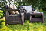 Corfu Weekend Set садові меблі з штучного ротанга, фото 7