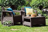 Corfu Weekend Set садові меблі з штучного ротанга, фото 10