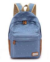 Рюкзак ГОРОШЕК Голубой В наличии Оригинал ,высококачественный,  фабричный!, фото 1