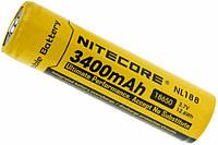 Аккумулятор NiteCore 18650 Li-ion PCB 3400 mAh, фото 1