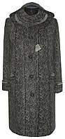 Женское зимнее пальто с капюшоном больших размеров