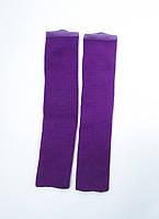 Детские гетры для гимнастики и танцев 35 см Фиолетовый для девочек до 10 лет, фото 1