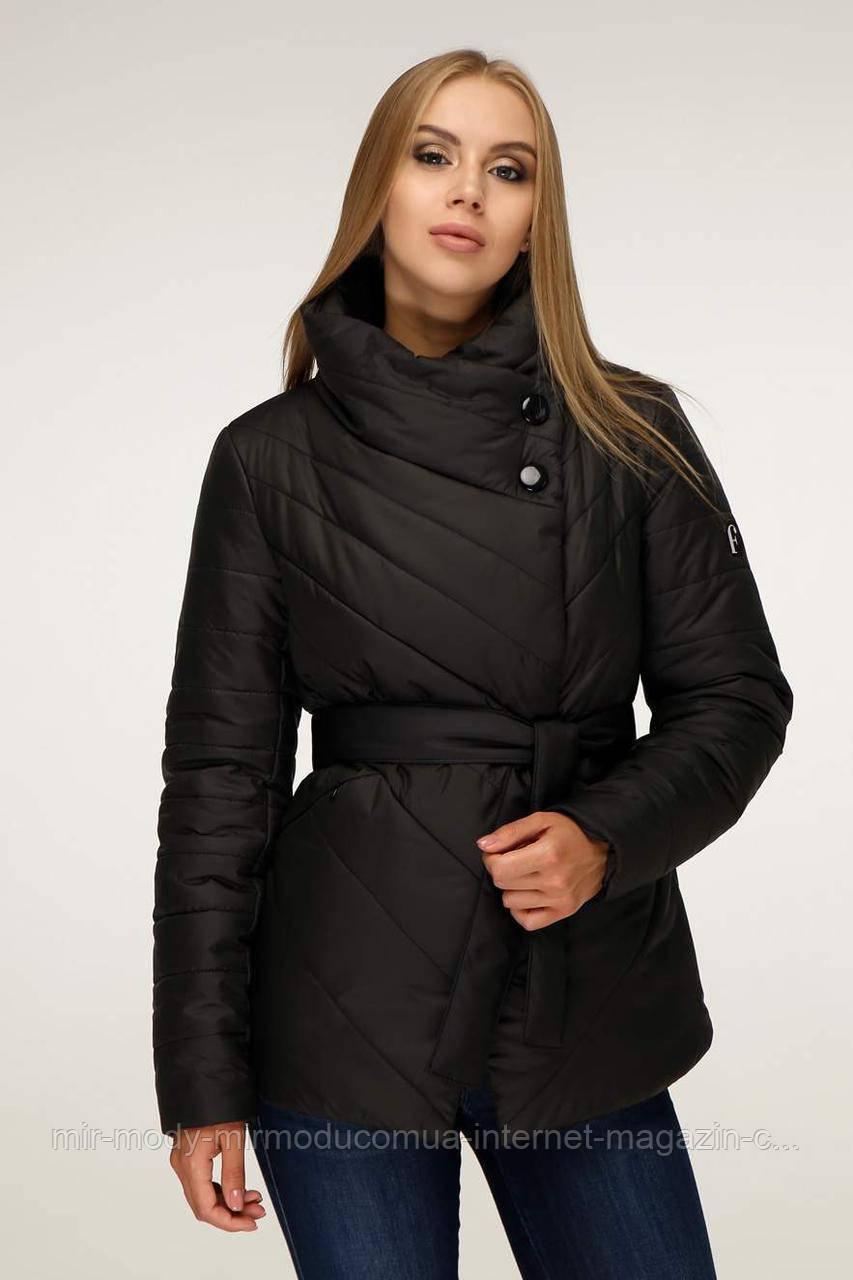 Куртка женская осень-зима В-1199 Лаке Тон 21 с 44 по 54  размер  (фт)