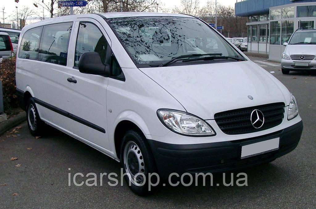 Скло Mercedes Vito II W639 (Viano) 03 - L3 Заднє салону Праве DG