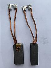 Графітова щітка ЭГ4 22х30х60 к1-7 НК1 6Д 125мм вальцованые