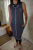 Женский халат без рукав