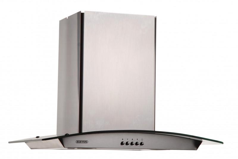 Кухонна витяжка Eleyus Оптима LED H 800 / 60 (нержавійка)