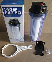 """Фільтр механічного очищення води 1/2"""" Water Filtr FH-10-1 (колба + фільтр), фото 1"""