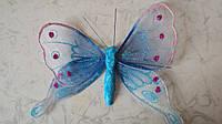 Бабочка декоративная размер 15*16 см