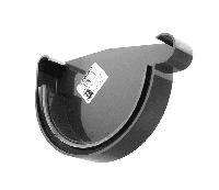 Заглушка желоба правая Р PROFiL 90 черный