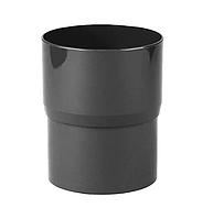 Соединитель водосточной трубы PROFiL 75 черный