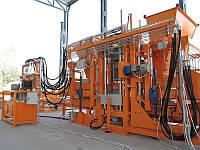 Оборудование для производства бетонных блоков, брусчатки, тротуарной плитки, вибропрессы.