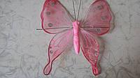 Бабочка декоративная 15*16