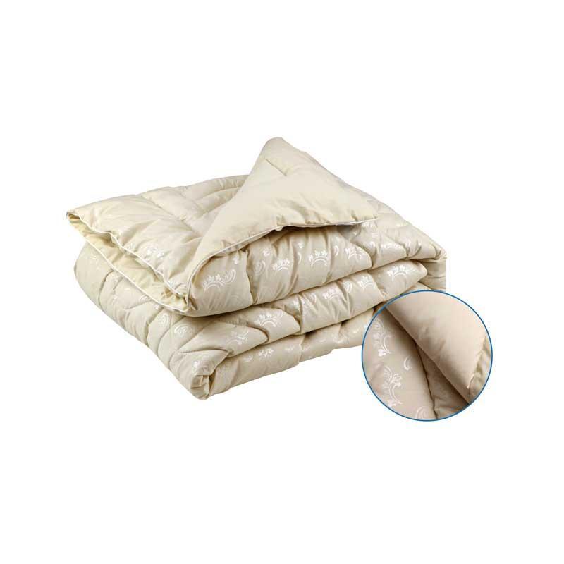 Одеяло шерстяное Руно Элит Вензель зимнее 172х205 двуспальное