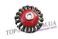 Щетка конусная Housetools - 125 мм, плетеная
