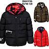 Двухсторонняя куртка для мальчиков оптом, Glo-story, 92/98-128 см,  № BMA-9196