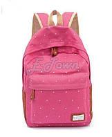 Школьный Рюкзак ГОРОШЕК розовый  В наличии Оригинал ,высококачественный,  фабричный!, фото 1