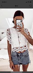 Блузка женская гипюровая