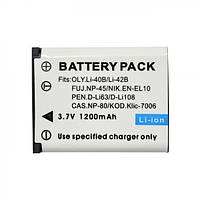 Аккумулятор Pentax D-LI63 1200mAh (Digital)