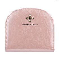 ✱Кошелек женский Baellerry N5536 Light Pink компактный тонкий для хранения денег Оригинал, фото 3