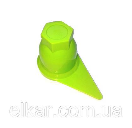 Ковпачок-стрілка 32 салатовий  LR1409