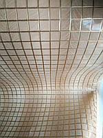 Кожзам мебельная ткань лакированный глянецна войлочной основеширина 140 см цвет пудровый