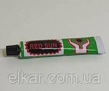 Клей для ремонту автокамери 20 мл RED SUN