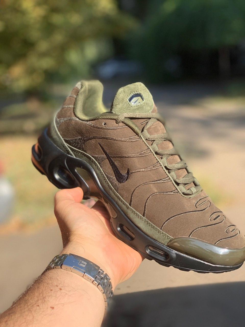 Кроссовки мужские Nike TN Хаки