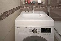 Умывальник на стиральную машину Claro New из акрила 60х60