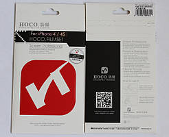 Защитная пленка для iPhone 4 4S HOCO глянцевая двухсторонняя