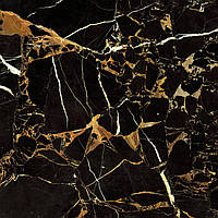 607х607 Керамограніт підлогу Saint Laurent Саинт-Лоурен чорний