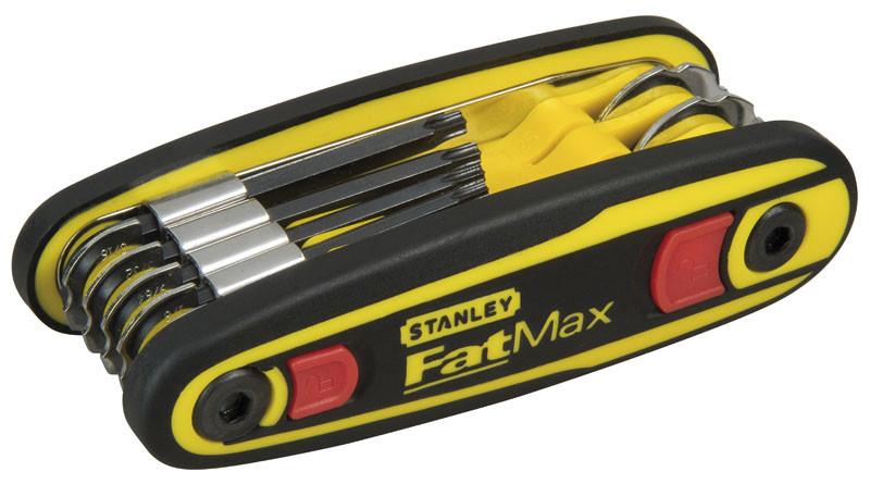 Набор ключей 6-ти гранн.  8 ед. 1.5- 8 мм FatMax в рукоятке с фиксатором (1.5-2-2.5-3-4-5-6-8 мм)  S