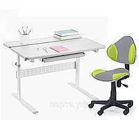Комплект парта Colore Grey 95 см+ детское компьютерное кресло LST3, 2 ЦВЕТА, фото 1