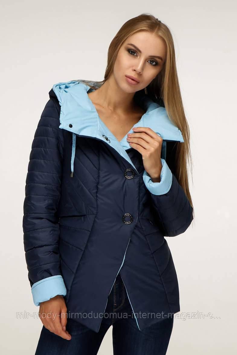 Куртка женская осенняя В-1196 Лаке Тон 18 с 44 по 54  размер  (фт)