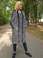 Кардиган  пальто из натурального меха, фото 1