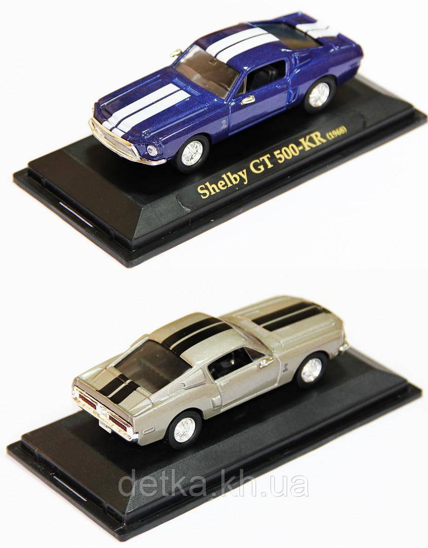 Модель легковая 4 94214 метал. 1 43 SHELBY GT 500KR 1968