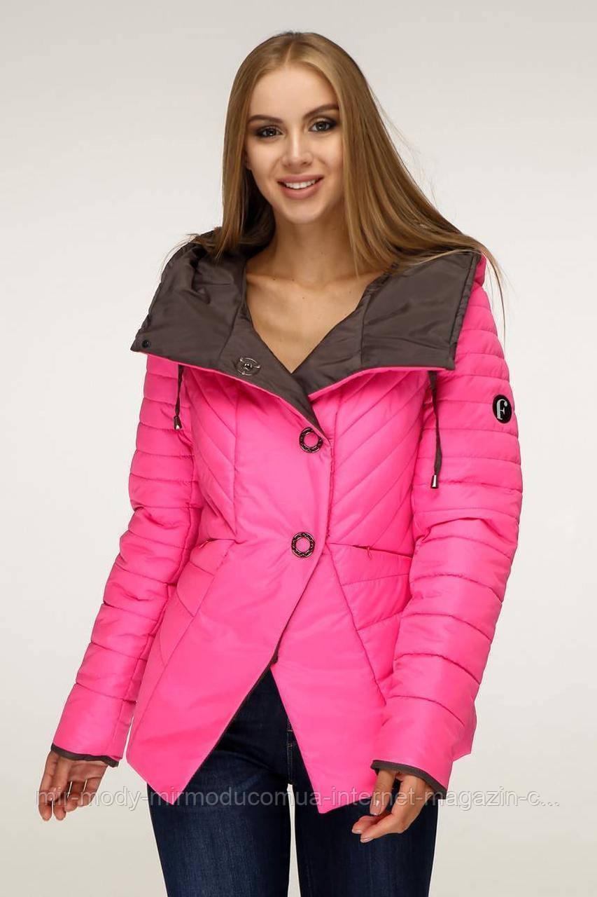 Куртка женская осенняя В-1196 Лаке Тон 111 с 44 по 54  размер  (фт)