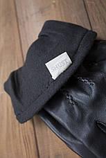 Мужские сенсорные кожаные перчатки 938s2, фото 2
