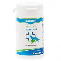 Витамины для котов Canina 702107/702121 Petvital Dеrm Caps 40г/100 таблеток при проблемах кожи и шерсти