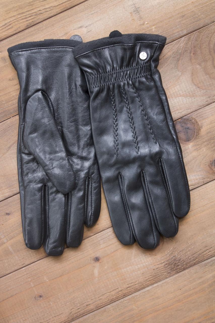 Мужские сенсорные кожаные перчатки 938s3