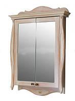 Шкаф зеркальный Атолл Ривьера apricot (персик), 170х1150х780 мм